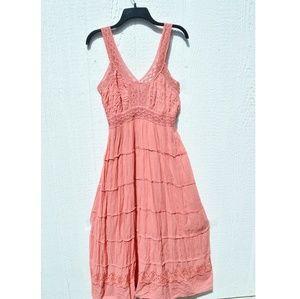3 for $25 S.R. Fashion Pastel Pink Boho dress